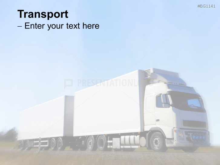 Logistics Background PowerPoint Template