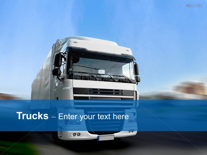 Truck - logistic _http://www.presentationload.com/truck-logistics.html