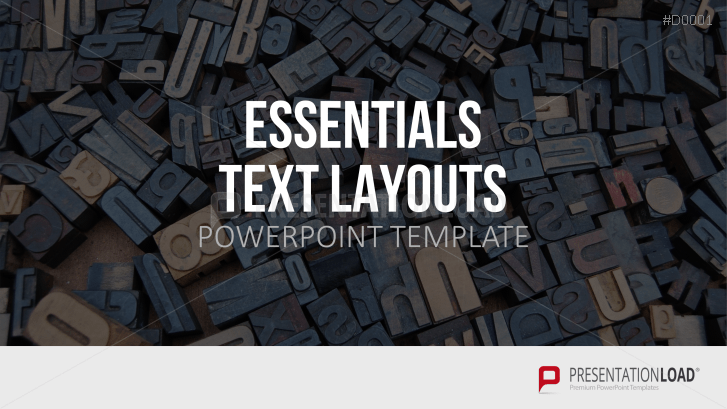 Essentials - Textlayouts