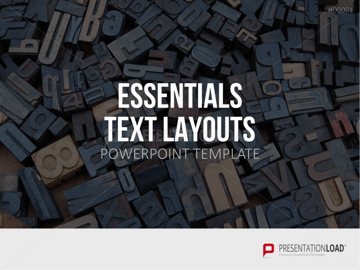 Essentials - Text Layouts _https://www.presentationload.com/essentials-text-en.html