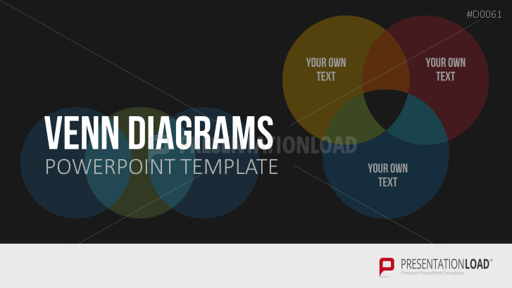 venn diagram powerpoint template, Modern powerpoint