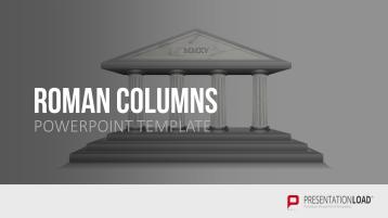 Temple with columns _https://www.presentationload.com/temple-pillars.html