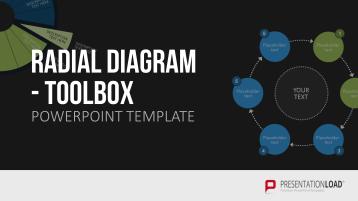 Radial Diagram - Toolbox _https://www.presentationload.com/3d-radial-diagrams.html