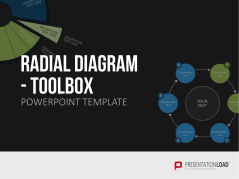 Radial Diagram - Toolbox _https://www.presentationload.com/3d-radial-diagrams.html