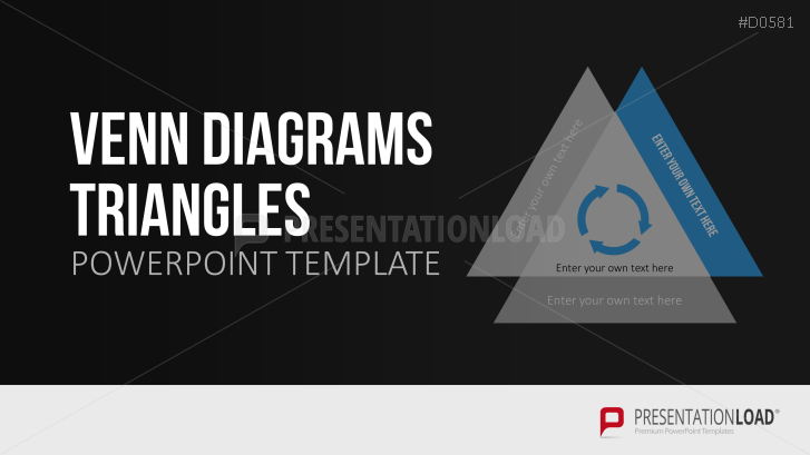 Venn diagrams triangles powerpoint template venn diagrams triangles toneelgroepblik Gallery