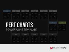 PERT Charts _https://www.presentationload.de/pert-diagramme.html