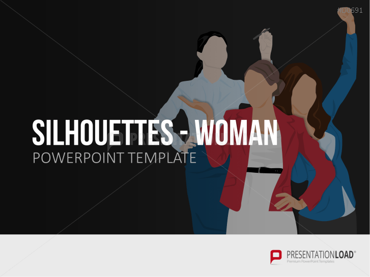 Silhouettes - Woman _http://www.presentationload.com/outlines-female-presenter.html