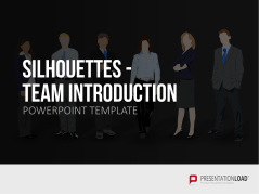 Silhouettes - Team Introduction _http://www.presentationload.com/outlines-team-introduction.html
