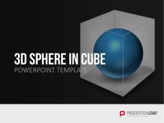 3D Spheres in Cube _https://www.presentationload.es/spheres-in-cube-es.html