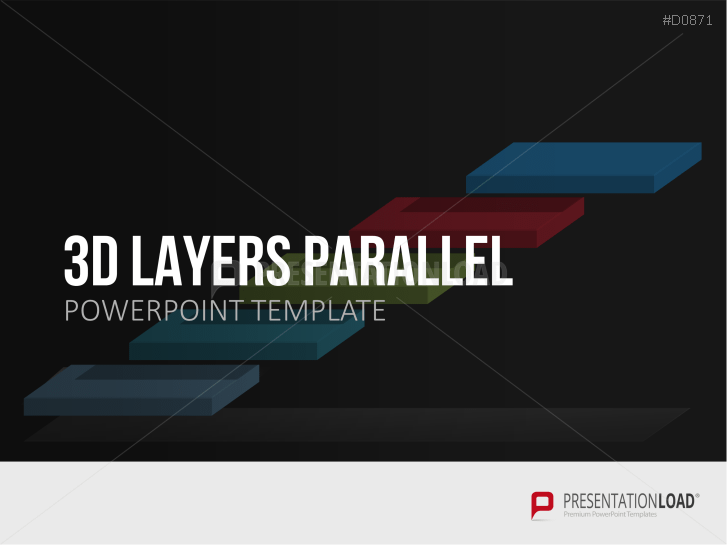 3D Layers - Parallel _http://www.presentationload.com/3d-layers-parallel.html