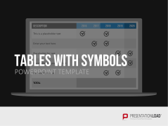 Tables with symbols _https://www.presentationload.com/tables-with-symbols.html