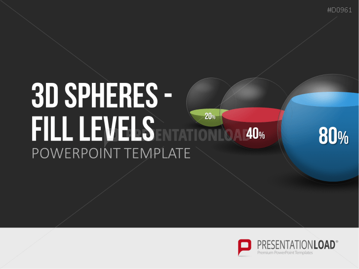 3D Spheres - Fill Levels _http://www.presentationload.com/3d-spheres-fill-levels.html