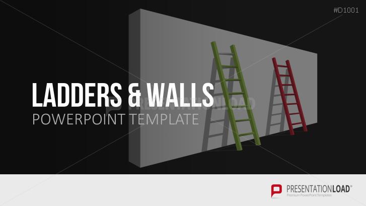 Leitern und Wände