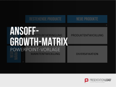 Ansoff Growth Matrix _https://www.presentationload.de/growth-matrix-ansoff.html