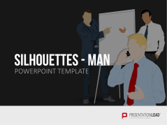 Silhouettes - Man _http://www.presentationload.com/outlines-male-presenter.html