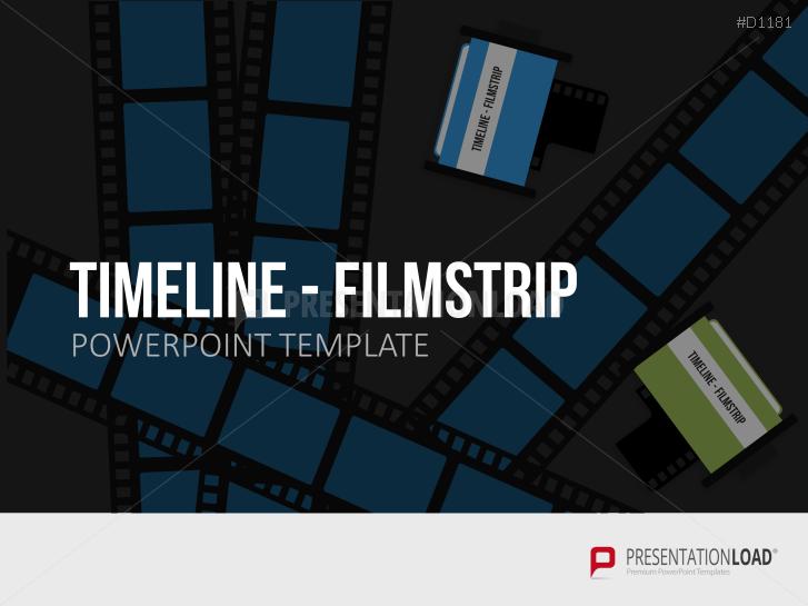 Timelines - Filmstreifen _http://www.presentationload.de/zeitstrahl-filmstreifen.html