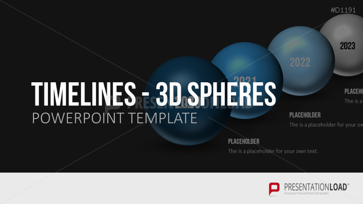 Timelines - 3D Kugeln