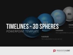 Timelines - 3D Kugeln _http://www.presentationload.de/zeitstrahl-kugeln-3d.html