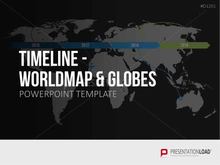 Timelines - Worldmap / Globes _https://www.presentationload.com/timelines-world-map-globes.html