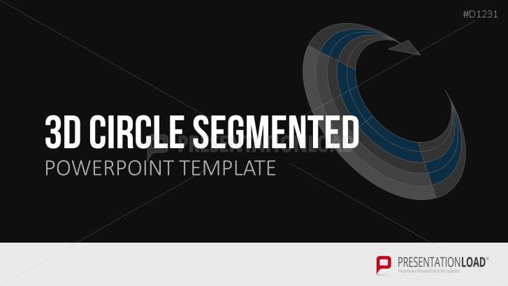 Segmentos circulares tridimensionales