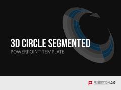 3D Kreise - Segmente _https://www.presentationload.de/kreise-segmente-3d.html