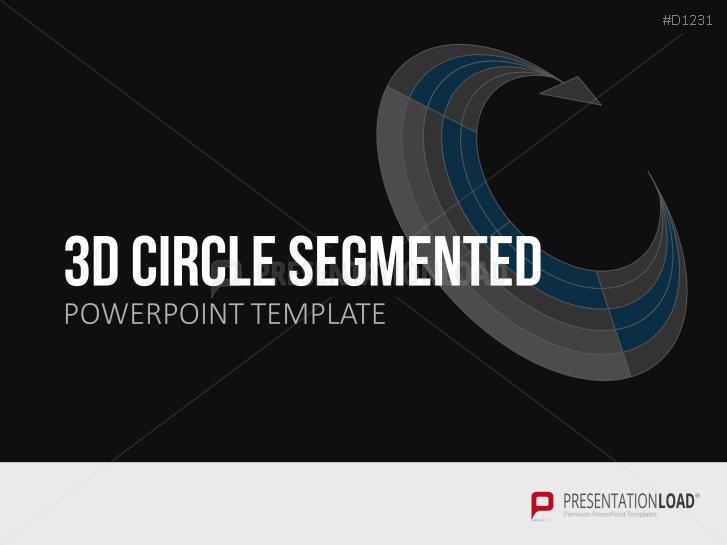3D Circles - segmented _https://www.presentationload.com/3d-circles-segmented.html