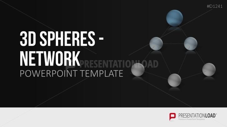 3D Spheres - Network
