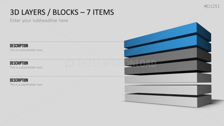 PresentationLoad | 3D Ebenen / Blöcke