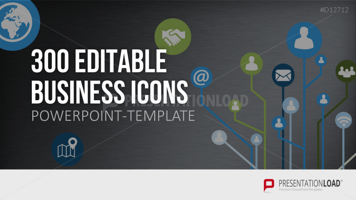 300 BUSINESS ICONS  INFOGRAPHICS