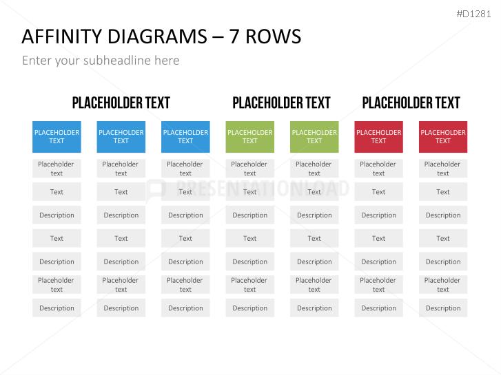 Diagram affinity diagram template free : Matrix Charts : PresentationLoad