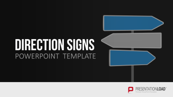Direction Signs _https://www.presentationload.com/direction-signs.html