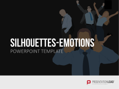 Silhouetten - Emotionen _https://www.presentationload.de/silhouetten-emotionen.html