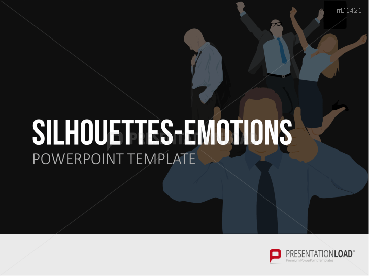 Silhouettes Emotions _https://www.presentationload.com/outlines-emotions.html