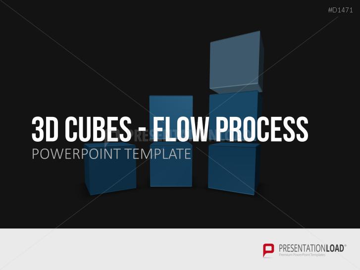 3D Cubes Flow Process _http://www.presentationload.com/3d-cubes-flow-process.html