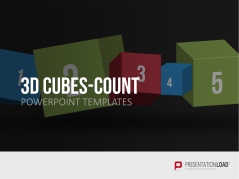 3D-Cubes Count _https://www.presentationload.com/3d-cubes-counts.html