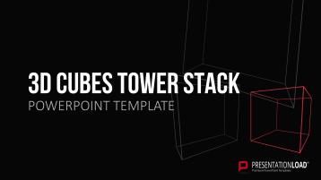 3D Cubes Tower Stack _https://www.presentationload.com/3d-cubes-tower-stack.html