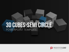 3D Cubes Semi-Circle _https://www.presentationload.com/3d-cubes-semi-circle.html