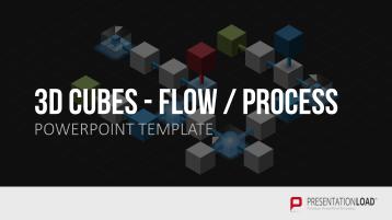 3D Würfel Flow Steps _https://www.presentationload.de/wuerfel-flow-steps-3d.html