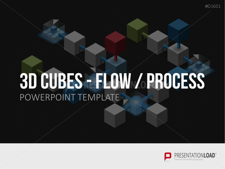 Cubes 3 D - Étapes de déroulement _https://www.presentationload.fr/3d-cubes-flow-steps-1.html