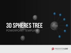 3D Spheres - Tree Structures _http://www.presentationload.com/3d-spheres-tree-structures.html