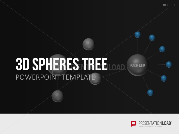 3D Spheres - Tree Structures _https://www.presentationload.com/3d-spheres-tree-structures.html