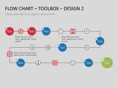Flussdiagramme-Toolbox _https://www.presentationload.de/flow-chart-toolkit.html