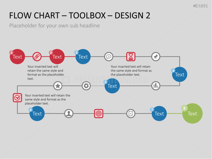 Flow Chart - Toolbox _https://www.presentationload.com/flow-chart-toolkit-1.html