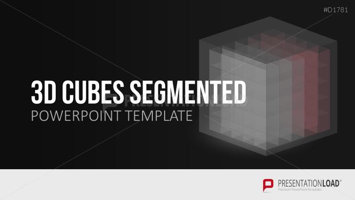 3D Cubes Segmented