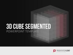 3D Würfel Segmente _https://www.presentationload.de/wuerfel-segmente-3d.html