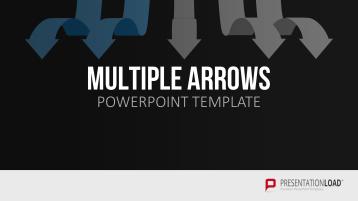 Multiple Pfeile _https://www.presentationload.de/multiple-pfeile.html