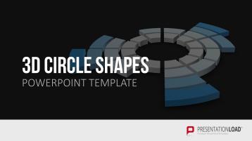 Diagramas circulares tridimensionales _https://www.presentationload.es/3d-formas-c-rculares-1.html