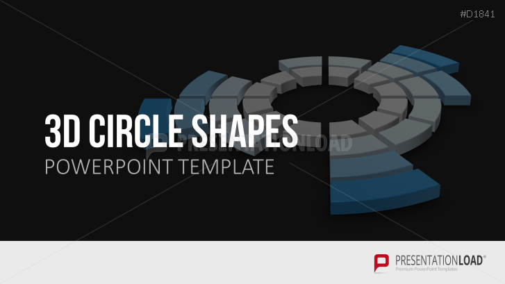 Circle shapes powerpoint template ccuart Gallery