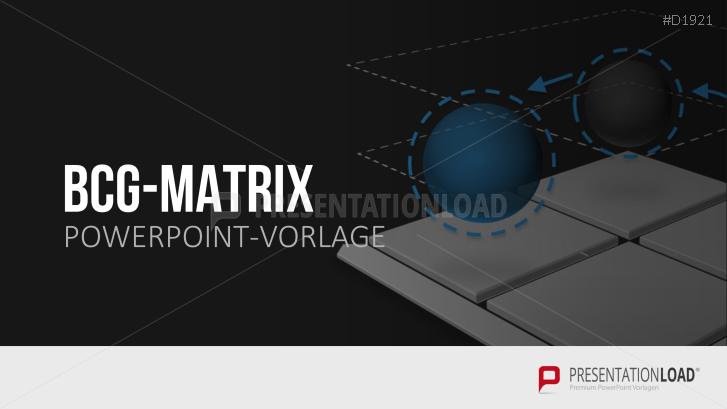 BCG-Matrix | PowerPoint-Vorlage