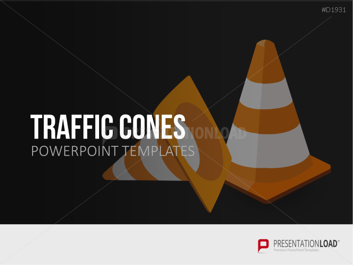 Traffic Cones _http://www.presentationload.com/traffic-cones-1.html